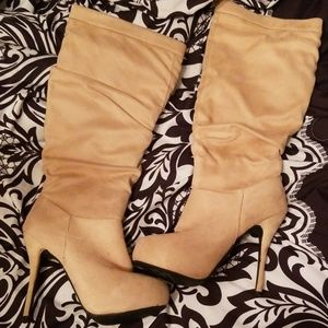 5 for $25 Charlotte Russe High Heel Boots